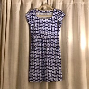 Jude Connelly Blue & White Link Dress XS